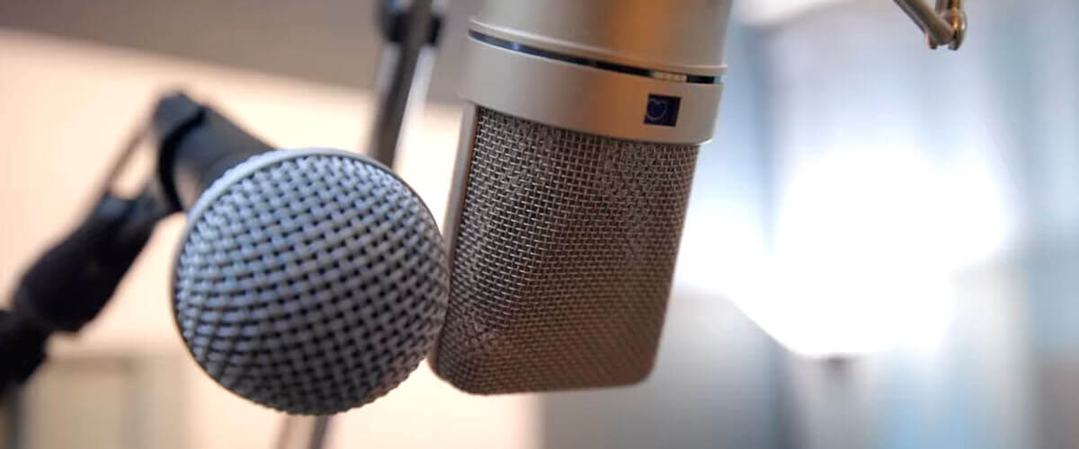 condenser and dynamic mic
