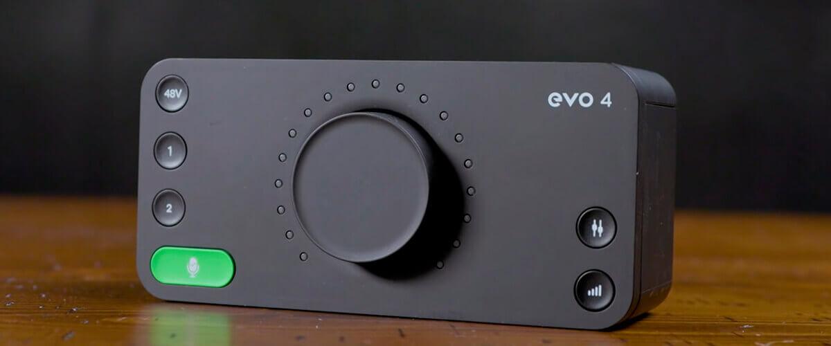 audio interface evo4